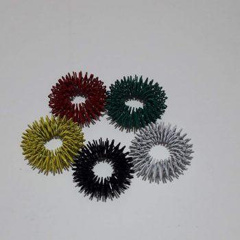Су джок массажер -Кольцо на палец № 1 м (цветные)