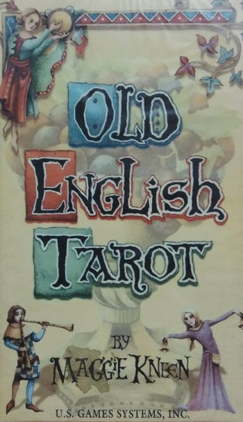 """Карты Таро . """"Old English tarot"""" (Старое английское Таро)"""