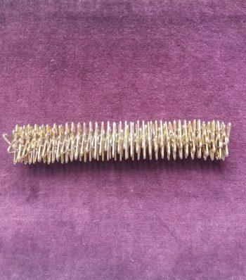 Массажная палочка для су-джок. Серебро