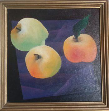 """Картина маслом """"Яблука"""""""