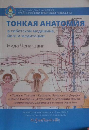 Нида Ченагцанг. Тонкая анатомия в тибетской медицине, йоге и медитации